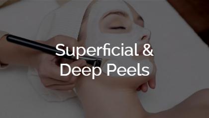 Superficial & Deep Peels